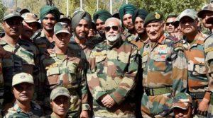 Modi with army-1