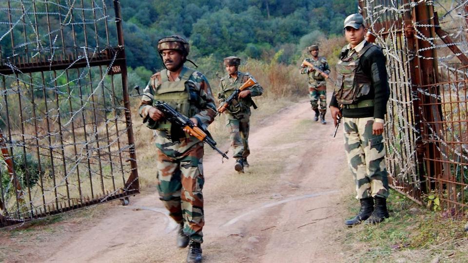 Indian Army destroys Pakistan's border post - Eshadoot